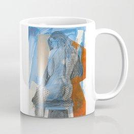 Blue Nude Coffee Mug
