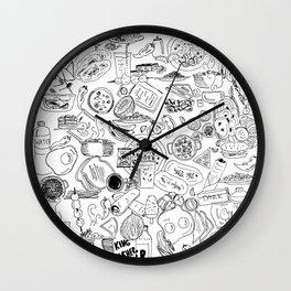 Indian food Wall Clock