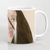 pocahontas Mugs featuring Pocahontas by Cassie Clark
