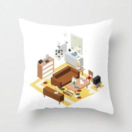 BTS - Isometric Epiphany Throw Pillow