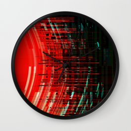 sonic weapon Wall Clock