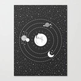 The Space Cat Canvas Print