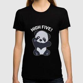 Panda High Five Panda Lover Gift T-shirt