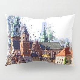 Cracow Wawel Castel Pillow Sham
