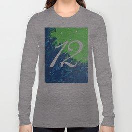 Blue & Green, 12, No. 3 Long Sleeve T-shirt