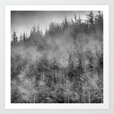 Dream woods. Into the woods Art Print