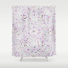 Purple Droplets #2259 Shower Curtain