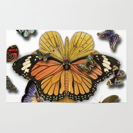 BUTTERFLIES ICE CREAM Rug