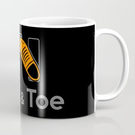 Heel & Toe Coffee Mug