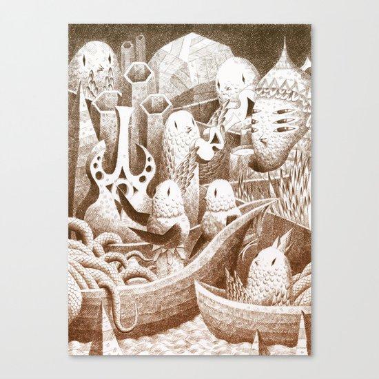 The Bay Canvas Print