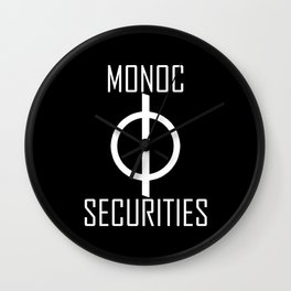 Monoc Securities Wall Clock