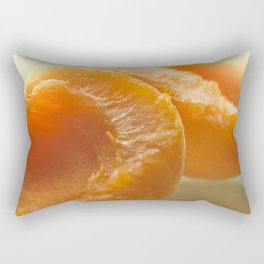 Slice apricots Rectangular Pillow