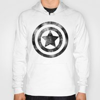 steve rogers Hoodies featuring Steve Rogers 008 by TheTreasure