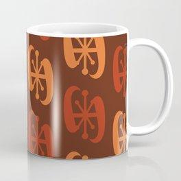 Starburst Bell Peppers Orange Coffee Mug