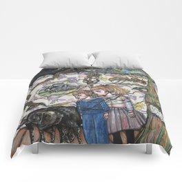 Les Deux Enfants D'Adelard Comforters