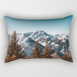 Mountains of Austria Rectangular Pillow