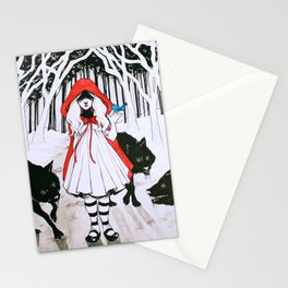 Amongst Wolves Stationery Cards
