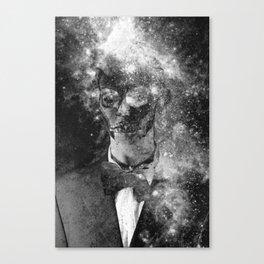 Skull star Canvas Print