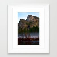 yosemite Framed Art Prints featuring Yosemite. by joelfcbirch