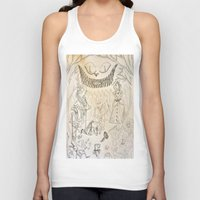 alice in wonderland Tank Tops featuring Wonderland  by Jgarciat