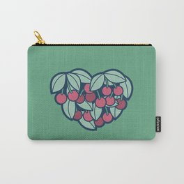 Heart of a Cherry Picker Carry-All Pouch