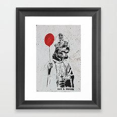 Going Rogue Framed Art Print