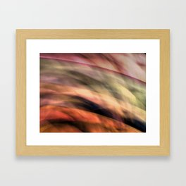 Surreal Hills Framed Art Print