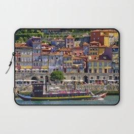 Ribeira houses, Oporto Laptop Sleeve