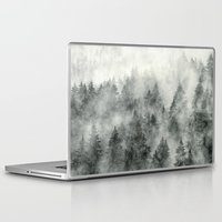 feathers Laptop & iPad Skins featuring Everyday by Tordis Kayma