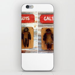 Guys and Gals iPhone Skin