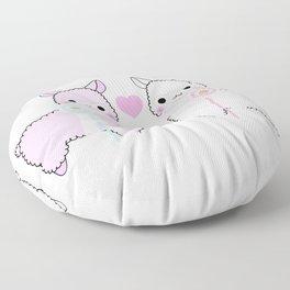 Alpaca Love Floor Pillow