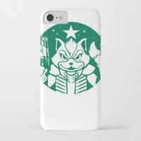 starfox iPhone & iPod Cases featuring Starfox Coffee by Jimiyo