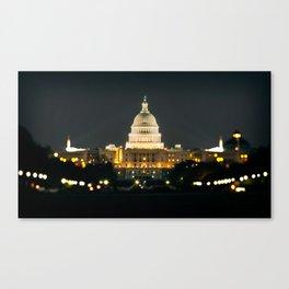 Capitol Canvas Print