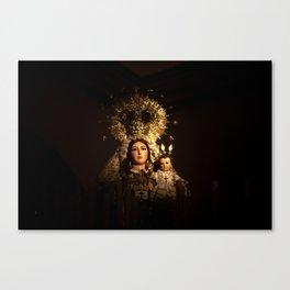 Virgin of Carmel Canvas Print