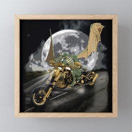 The Drag Racer Framed Mini Art Print