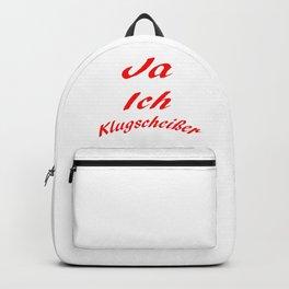 Klugscheißer Backpack
