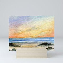 Sunset Seascape Mini Art Print