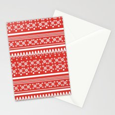 Christmas Jumper Red Stationery Cards