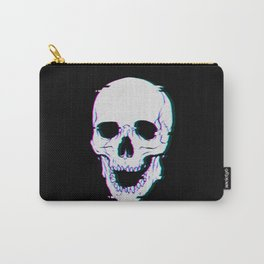 Glitch Skull Carry-All Pouch