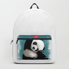 Panda Love (Color) Backpack
