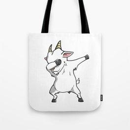 Funny Goat Dabbing Tote Bag