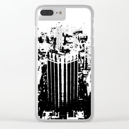 Island City Clear iPhone Case