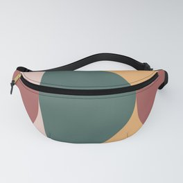 Mid Century Modern Geometric Abstract 231 Fanny Pack
