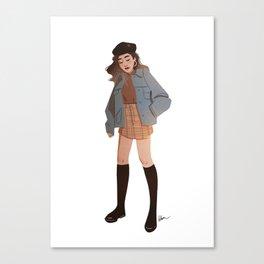 Miss October Canvas Print