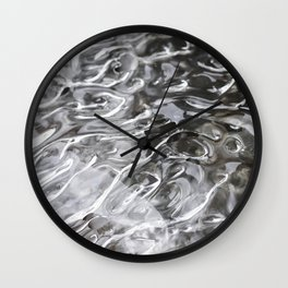 Tongues of fire, bound by ice. Wall Clock