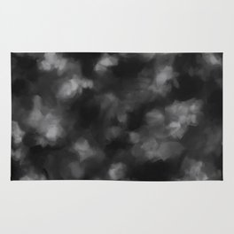 Black Heart in the Clouds Rug