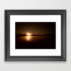 Sky Fills With Light Framed Art Print