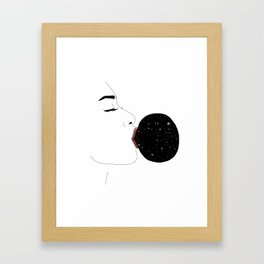 Space Gum II Framed Art Print