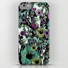 Mrs. Sandman, melting rose skull pattern iPhone 6 Plus Slim Case