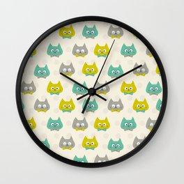 Litte Cats Wall Clock